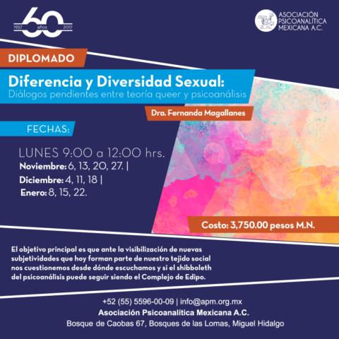Diferencia y Diversidad Sexual: Diálogos pendientes entre teoría queer y psicoanálisis