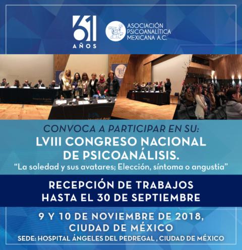 Lviii Congreso Nacional de Psicoanálisis
