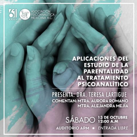 Aplicaciones del estudio de la parentalidad al tratamiento psicoanalítico
