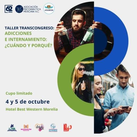 Taller Transcongreso «Adicciones e internamiento: cuándo y por qué»
