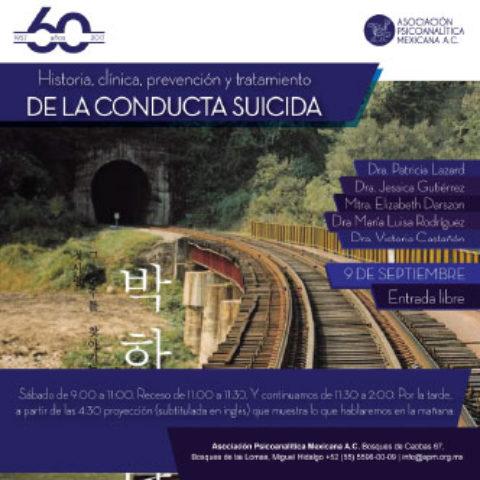 Historia Clínica, Prevención y Tratamiento de la Conducta Suicida.