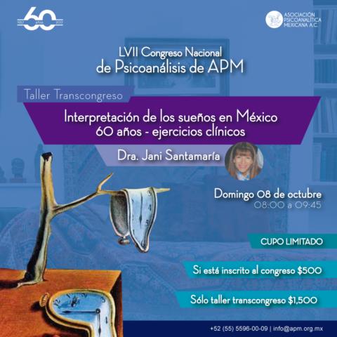 Interpretación de los sueños en México 60 años – ejercicios clínicos