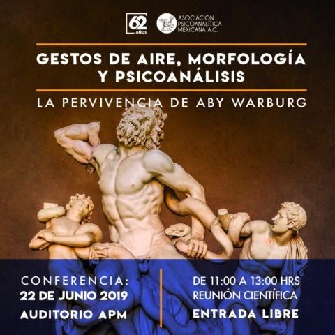 Gestos de aire, morfología y psicoanálisis. La pervivencia de Aby Warburg