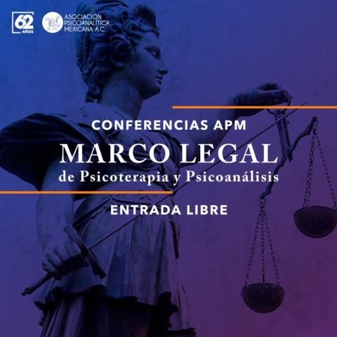 Marco Legal de Psicoterapia y Psicoanálisis