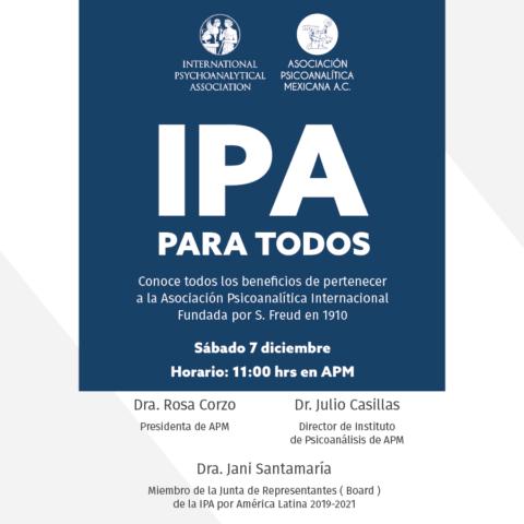 """Conferencia """"IPA para todos"""""""