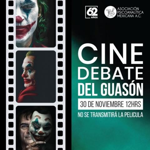 Cine debate presenta: El Guasón