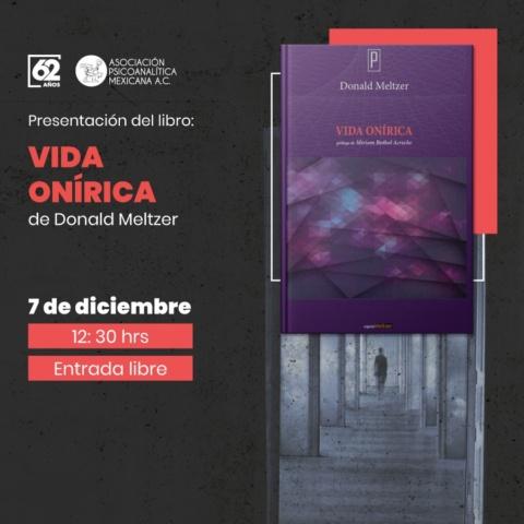 "Presentación del libro ""Vida Onírica"" de Donald Meltzer"