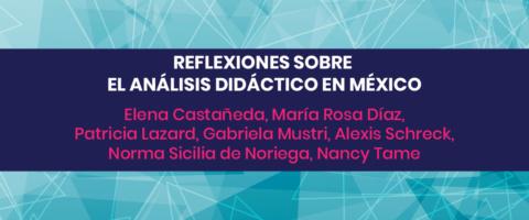 Reflexiones sobre el análisis didáctico en México