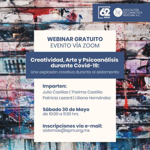 Creatividad, Arte y Psicoanálisis durante Covid-19: Una explosión creativa durante el aislamiento