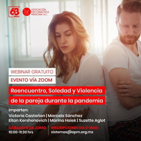 Reencuentro, Soledad y Violencia de la pareja durante la pandemia