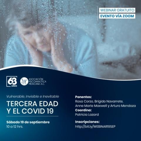 Tercera edad y el COVID-19