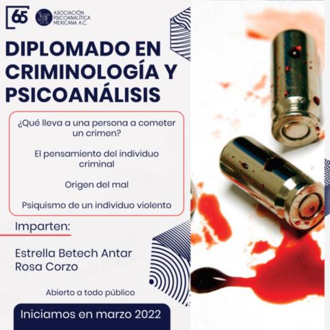 Diplomado en Criminología y Psicoanálisis